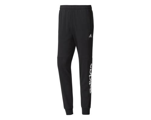 Pantalon Adidas Essentials Linear Tapered French Terry Noir