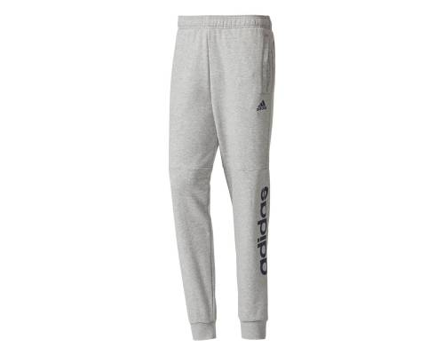 Pantalon Adidas Essentials Linear Tapered Gris / Marine