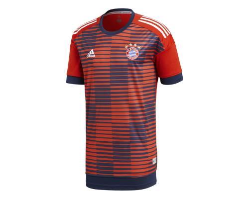 Maillot Adidas Bayern Munich Preshirt Marine / Rouge