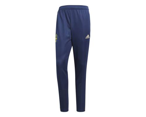 Pantalon Adidas Suede Training Bleu