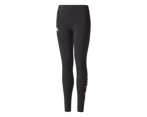 Collants Adidas Linear Tight Noir / Rose