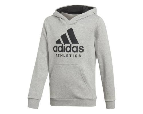 Sweat Adidas Yb Sport Id Hoodie Gris