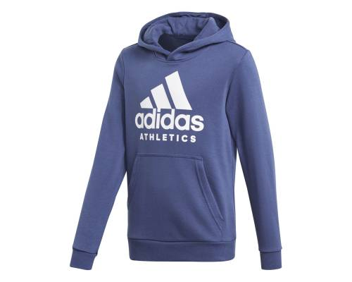 Sweat Adidas Yb Sport Id Hoodie Bleu