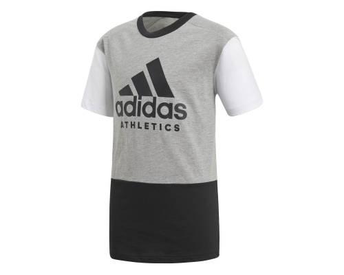 T-shirt Adidas Sport Id Gris / Blanc / Noir