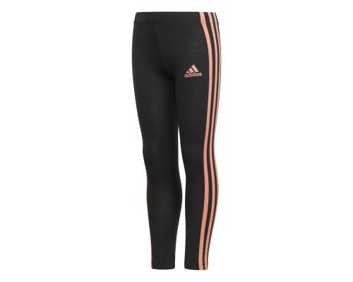 Collants Adidas Lg Cotton Noir / Rose