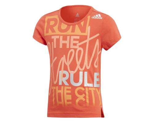 T-shirt Adidas Lg Graphic Orange