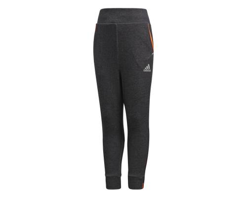 Pantalon Adidas Drop-crotch Noir / Orange