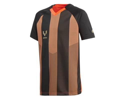 T-shirt Adidas Messi Icon Noir / Orange
