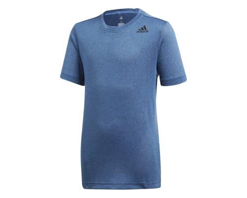 T-shirt Adidas Textured Bleu