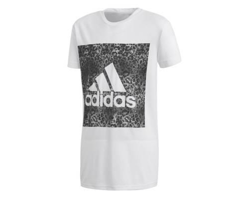T-shirt Adidas Yg Logo Loose Blanc