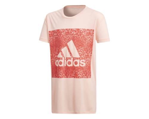 T-shirt Adidas Logo Loose Corail