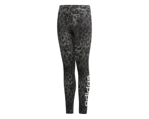 Collants Adidas Ess Aop Linear Tight Gris / Noir