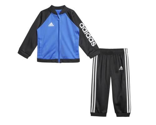 Survêtement Adidas Shiny Jog Noir / Bleu