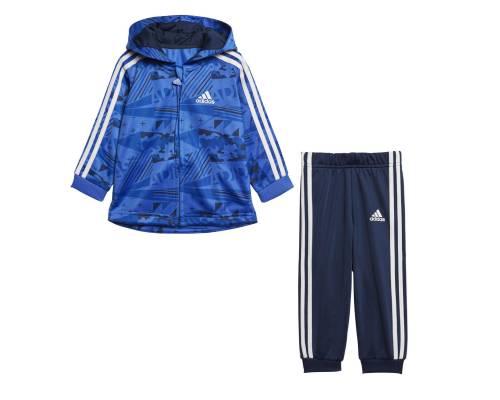 Survêtement Adidas Shiny Jog Marine / Bleu