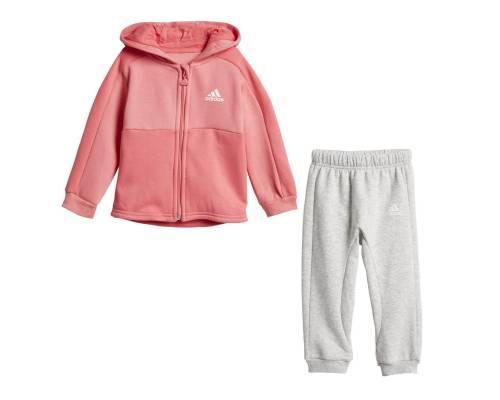 Survêtement Adidas Linear Jog Rose / Gris