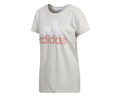 T-shirt Adidas Essentials Linear Loose Gris