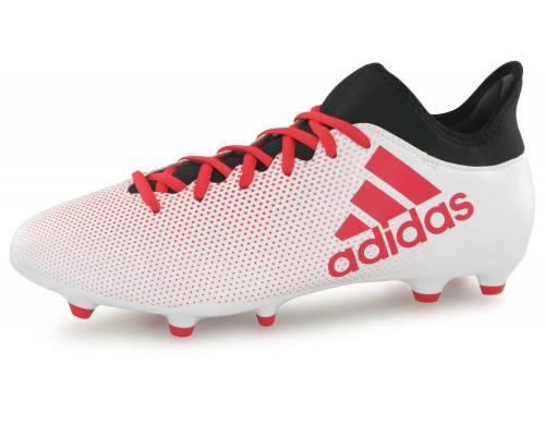 Adidas X 17.3 Fg Blanc / Rouge
