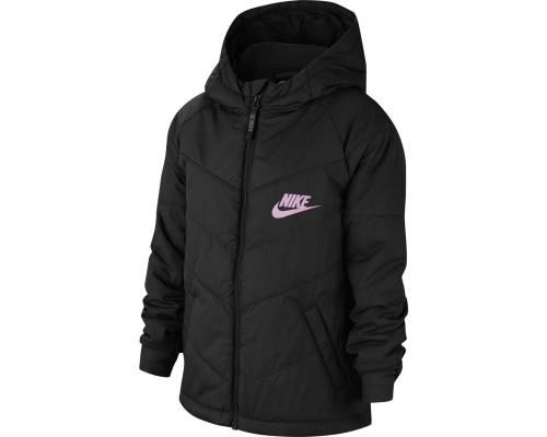 Veste Nike Sportswear Noir / Rose Fille