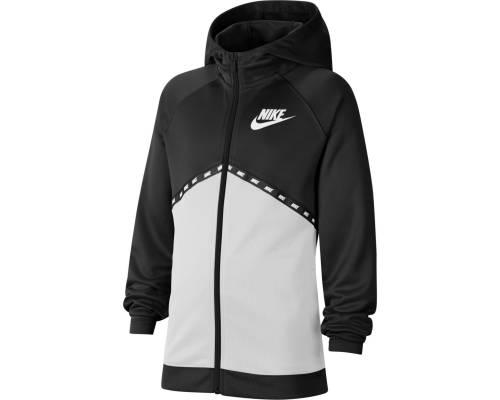 Veste Nike Sportswear Poly Noir / Blanc Enfant