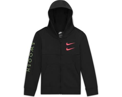 Veste Nike Sportswear Swoosh Noir Enfant