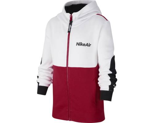 Veste Nike Air Blanc / Rouge Enfant