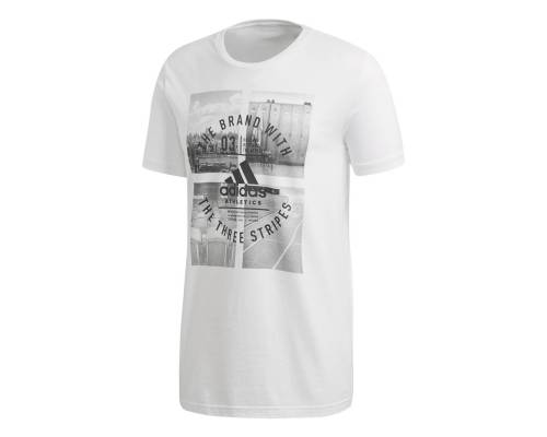 T-shirt Adidas Athletic Vibe Blanc