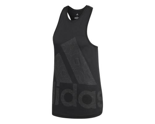 Débardeur Adidas Climalite Logo Noir