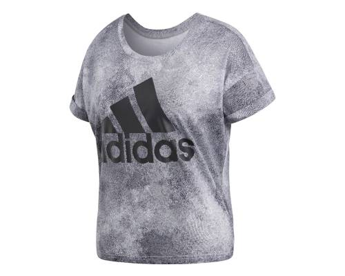 T-shirt Adidas Essentials All Over Printed Gris