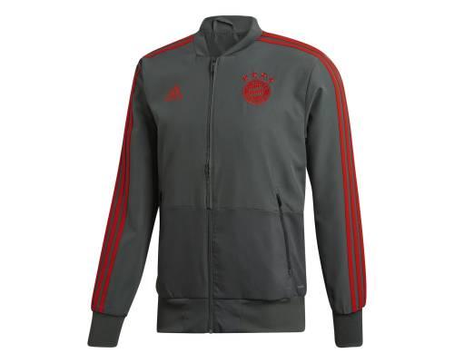 Veste Adidas Bayern Munich Presentation 2018-19 Gris / Rouge