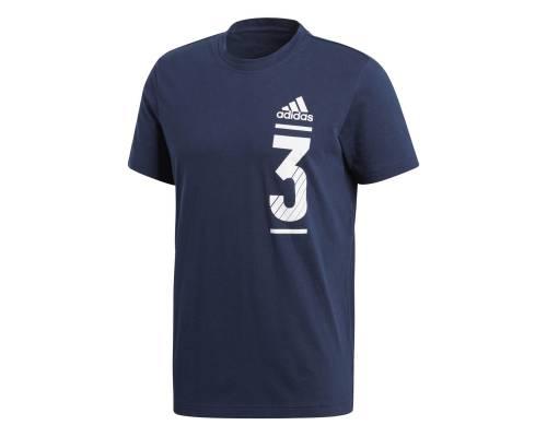 T-shirt Adidas Big Logo Bleu