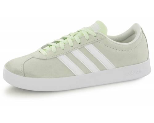 17608a1a7200 Adidas Neo Vl Court 2.0 Vert   Blanc