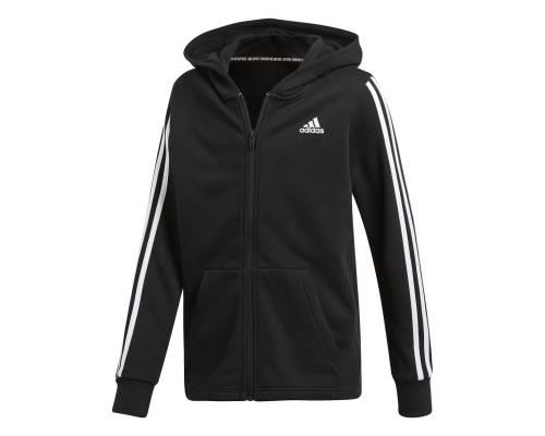 Veste Adidas 3-stripes Noir / Blanc Junior