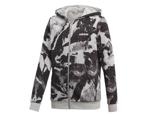 Veste Adidas Essentials Aop Gris / Noir Junior