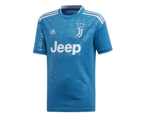 Maillot Adidas Juventus Turin Third 2019-20 Bleu Junior