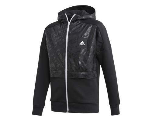 Veste Adidas Coverup Noir / Gris Junior
