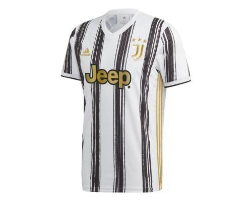 Maillot Adidas Juventus Turin Domicile 2020-21 Blanc / Noir