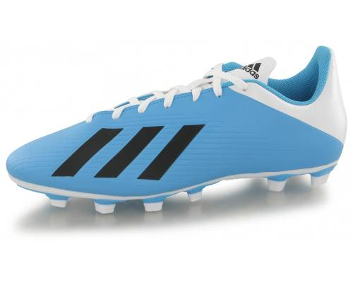 Adidas X 19.4 Fg Bleu / Blanc