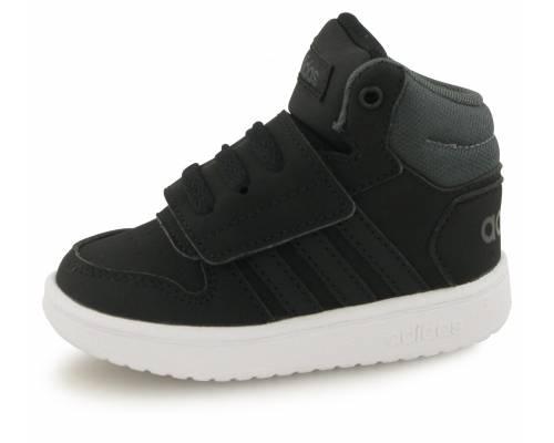 Adidas Hoops Mid Noir Bebe