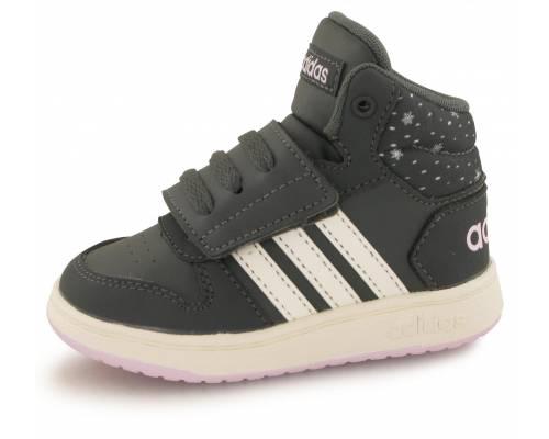 Adidas Hoops Mid 2.0 Gris Bebe