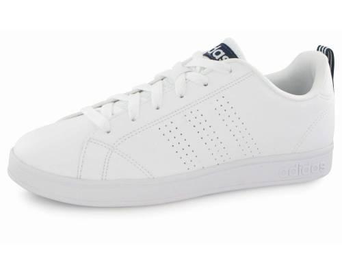 Adidas Neo Advantage Clean Blanc Et Bleu