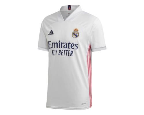 Maillot Adidas Real Madrid Domicile 2020-21 Blanc