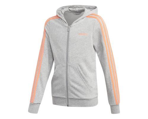 Veste Adidas Essentials 3-stripes Gris Fille