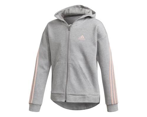 Veste Adidas 3-stripes Gris / Rose Fille