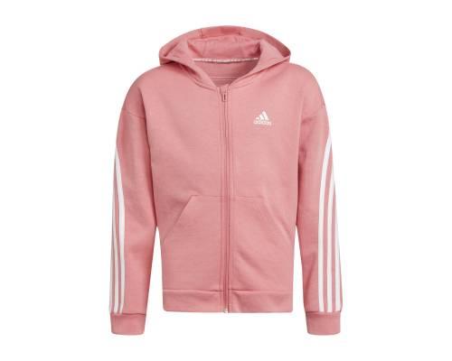 Veste Adidas 3-stripes Rose Fille