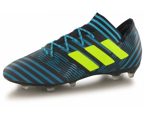 Adidas Nemeziz 17.2 Fg Bleu / Jaune