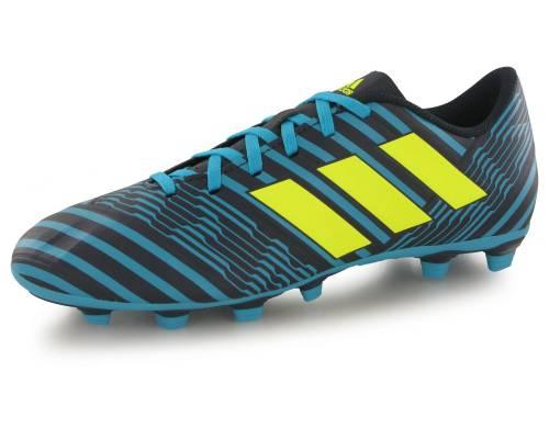 Adidas Nemeziz 17.4 Fg Bleu / Noir