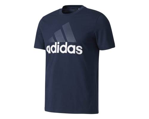 T-shirt Adidas Essentials Linear Marine