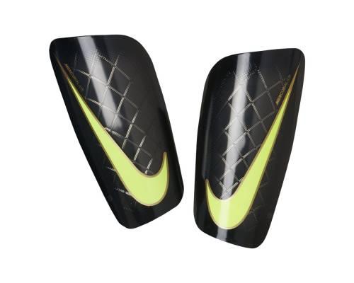 Protège tibias Nike Mercurial Lite Noir Et Jaune