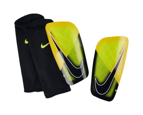 Protège tibias Nike Mercurial Lite Orange / Noir