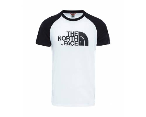 T-shirt The North Face Raglan Blanc / Noir